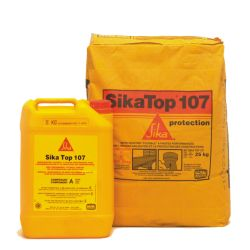 Sika Top-107 Kit A+B 25KG Wit