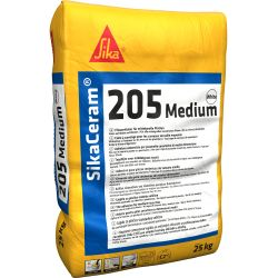 SikaCeram-205 Medium grijs 25KG