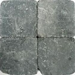 Klinkers getrommeld 20x20 grijszwart (pallet 10,08m²)