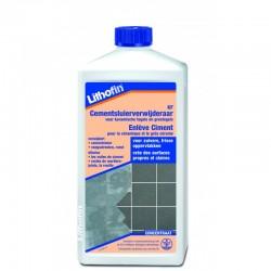 Lithofin KF Cementsluier verwijderaar 1L