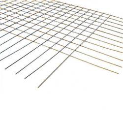 Steknet 5,95x2,35m dia.8mm maas 15x15cm - per stuk