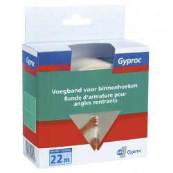 Gyproc voegband voor binnenhoeken 22m