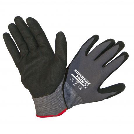 Werkhandschoen Bouwdepot grijs/zwart 9 medium