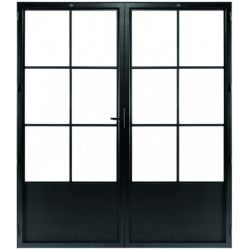 STEELIT deur H201.4 B173.6 CLASSIC 6 DUO-rechts