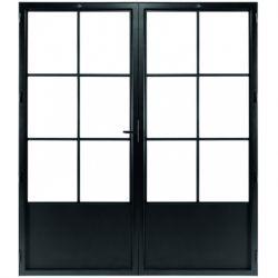 STEELIT deur H211.4 B173.6 CLASSIC 6 DUO-rechts