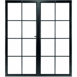 STEELIT deur H211.4 B173.6 CLASSIC 8 DUO-rechts