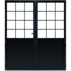 STEELIT deur H231.4 B193.6 CLASSIC 12 DUO-rechts
