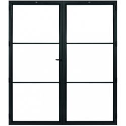 STEELIT deur H211.4 B173.6 MODERN 3 DUO-rechts