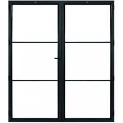 STEELIT deur H201.4 B173.6 MODERN 3 DUO-rechts
