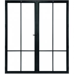 STEELIT deur H231.4 B193.6 MODERN 4 DUO-rechts