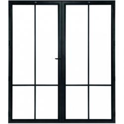 STEELIT deur H201.4 B173.6 MODERN 4 DUO-rechts