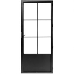 STEELIT deur H231.4 B97.5 CLASSIC 6-rechts