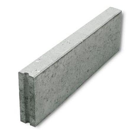 Boordsteen beton 100x30x10cm grijs
