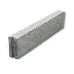 Boordsteen beton 100x20x10cm grijs