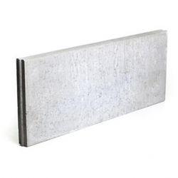Boordsteen beton 100x40x6cm grijs