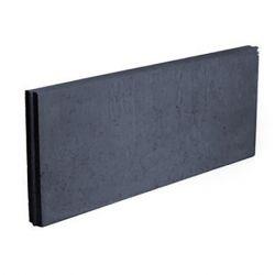 Boordsteen beton 100x40x6cm zwart