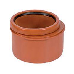 PVC roodbruin verloop dia.160/125 1 mof
