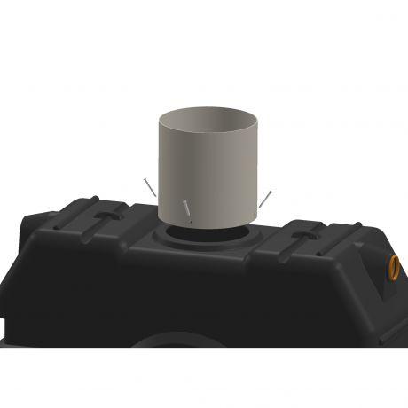 Verwonderlijk PVC opzetstuk diam.500 - 1m online kopen | Bouwdepot.be ZT-43
