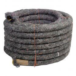 Drainagebuis PP type 450 wikkel rol 50m - diam.80