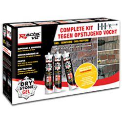 Rectavit Drystone gel SET 3x310 ml + pistool