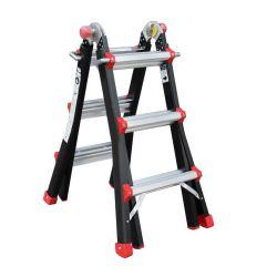 Gedimax Yeti Pro multifunctionele ladder 4x3 treden