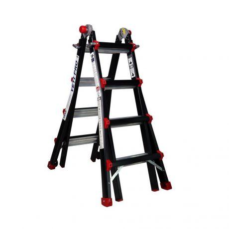 Gedimax multifunctionele ladder 4x4 treden