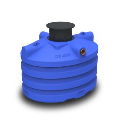 DS regenwatertank/septic premium ovaal 4.000L