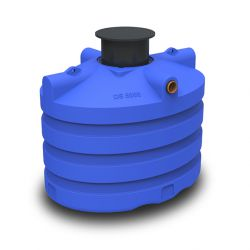 DS regenwatertank/septic premium ovaal 5.000L