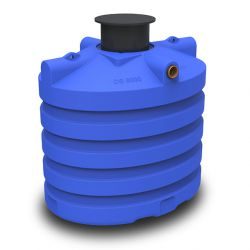 DS regenwatertank/septic premium ovaal 6.000L