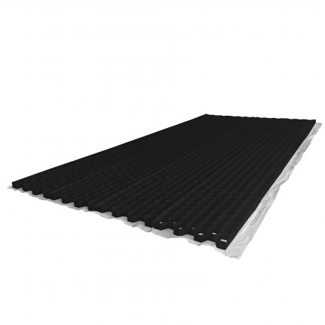 Nidagravel grindplaat 140 zwart