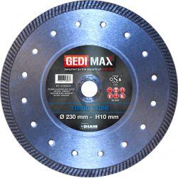 Gedimax diamantschijf TURBO STONE - 230mm