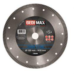 Gedimax diamantschijf TURBO STONE - 125mm