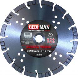 Gedimax diamantschijf PREMIUM - 230mm
