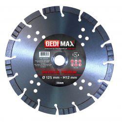 Gedimax diamantschijf PREMIUM - 125mm