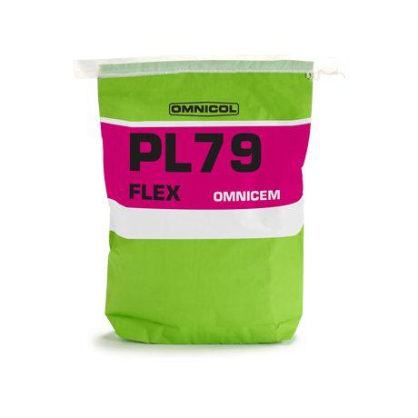 Omnicol OMNICEM PL79 FLEX 25KG wit