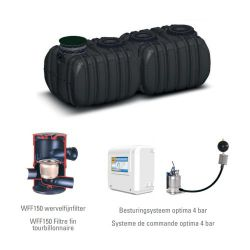 Slim Rain recuperatiepakket QR 10.000L