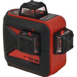 FUTECH MC3D kruislijnlaser Rood Compact + Statief 180cm + ontvanger