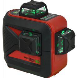 FUTECH MC3D kruislijnlaser Groen Compact + Statief 180cm + ontvanger