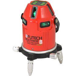 FUTECH MC8 HPSB kruislijnlaser Groen + Statief 300cm + ontvanger