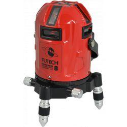FUTECH MC8 HPSD kruislijnlaser Rood  + Statief Medium Duty 300cm