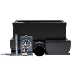 YU FastDrain 75 BLACK inspectieluik horizontaal