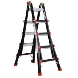 Gedimax multifunctionele ladder 4x6 treden