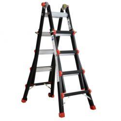 Gedimax Yeti Pro multifunctionele ladder 4x6 treden