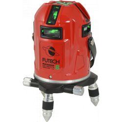 FUTECH MC8 HPSD kruislijnlaser Groen + Statief Medium Duty 300cm
