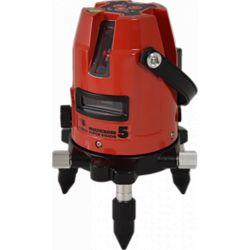 FUTECH MC5 SD kruislijnlaser Rood + Statief 180cm