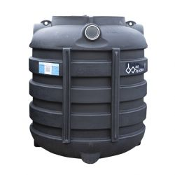 DSB regenwatertank/septic ovaal 1.000L