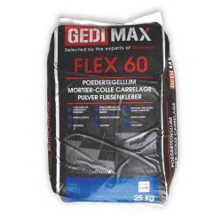 Gedimax FLEX 60 tegellijm 25KG grijs