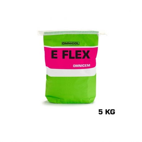 Omnicol OMNICEM E FLEX 5 KG grijs
