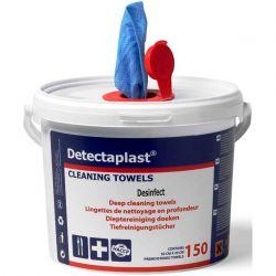 Detectaplast Reinigings- en desinfectiedoekjes (150 stuks)