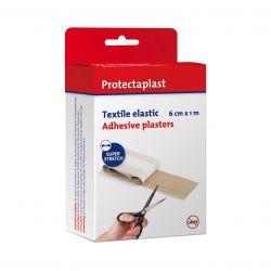 Protectaplast Pleister elastic huidskleur 6cm x 1m